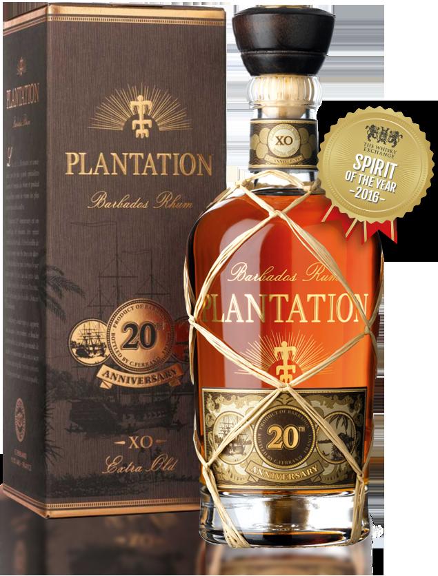 Rum Plantation XO 20th Anniversary 40° 70 cl - QUERDRINKER